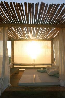 ILINA SIMEONOVA Day bed at sunset