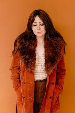 Shelley Richmond Young woman in fur coat