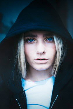Shelley Richmond Young woman with black hood