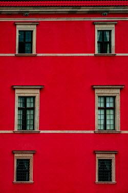Magdalena Wasiczek Windows of red building