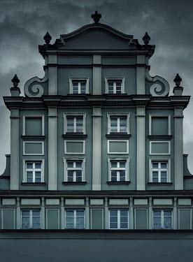 Jaroslaw Blaminsky Overcast sky and building