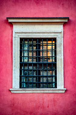 Magdalena Wasiczek Window of red apartment building