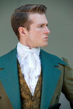 Lee Avison portrait of a regency man