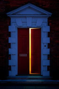 Nic Skerten GRAND OPEN DOORWAY AT NIGHT