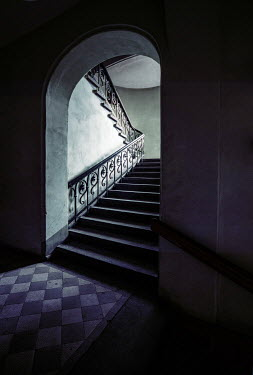 Jaroslaw Blaminsky STAIRCASE AND ARCHWAY IN SHADOW