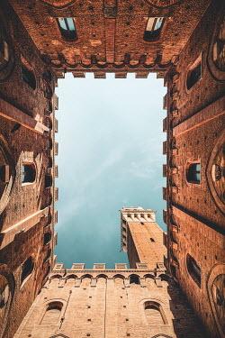 Evelina Kremsdorf ATRIUM IN HISTORICAL ITALIAN BUILDING