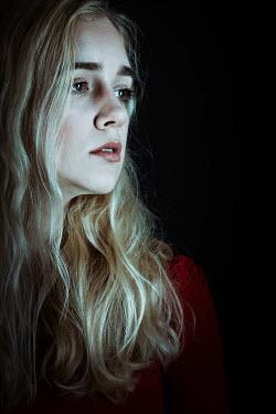 Magdalena Russocka close up of blonde woman inside