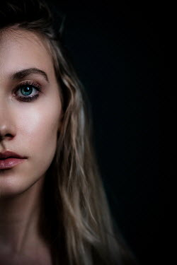 Ildiko Neer Half face of young woman