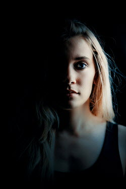 Ildiko Neer Young woman with shadowed face