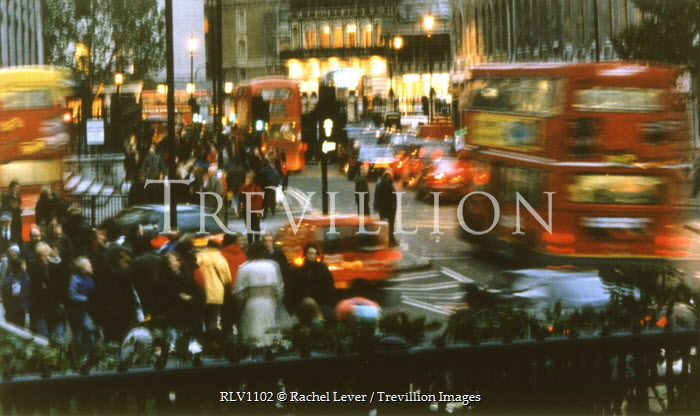 Rachel Lever LONDON BUSY JUNCTION Specific Cities/Towns