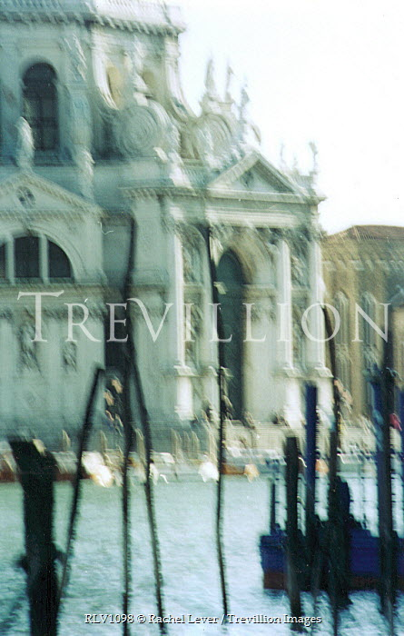 Rachel Lever VENICE RIVER AND BUILDINGS Specific Cities/Towns