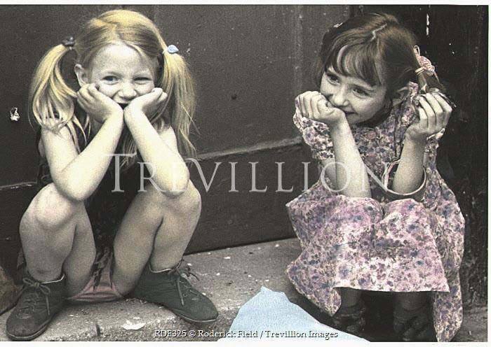 Roderick Field GIRLS SNICKERING Children