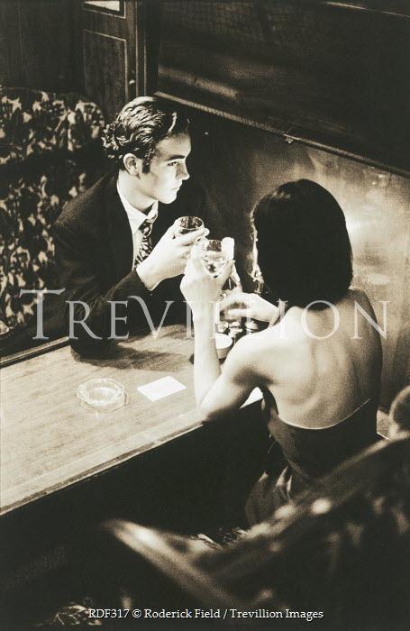 Roderick Field COUPLE HAVING DRINKS Couples