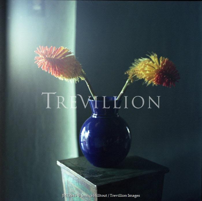 Jessica Hilltout FLOWERS IN BLUE VASE Flowers/Plants