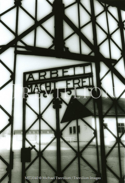 Michael Trevillion GATE TO CONCENTRATION CAMP Specific Cities/Towns