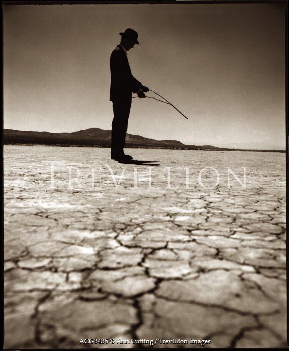 Ann Cutting MAN STANDING ON DRY LAND Men