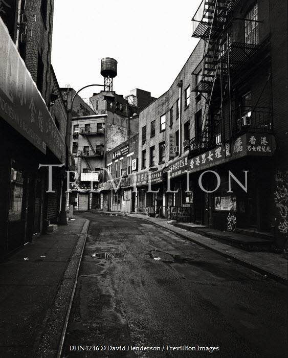 David Henderson DERELICT CITY STREET Streets/Alleys