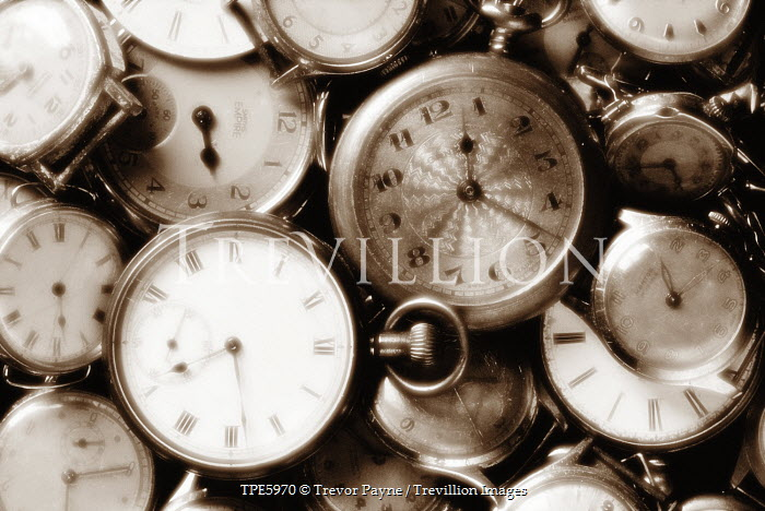 Trevor Payne COLLECTION OF POCKET WATCHES Miscellaneous Objects