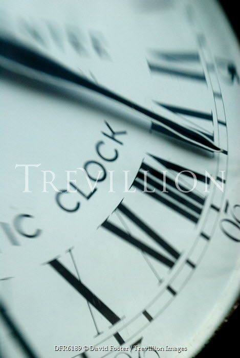 David Foster CLOSE UP OF CLOCK Miscellaneous Objects