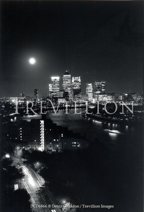 Denis Cohadon LONDON CITY SKYLINE Specific Cities/Towns