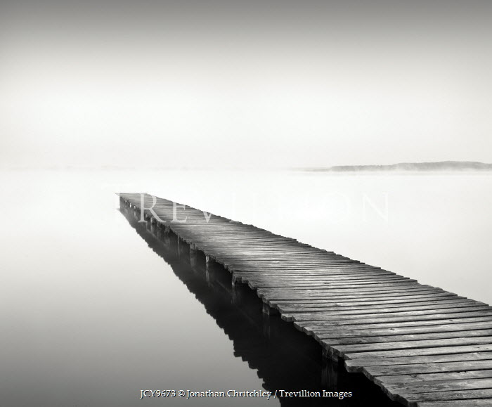 Jonathan Chritchley WOODEN JETTY Seascapes/Beaches