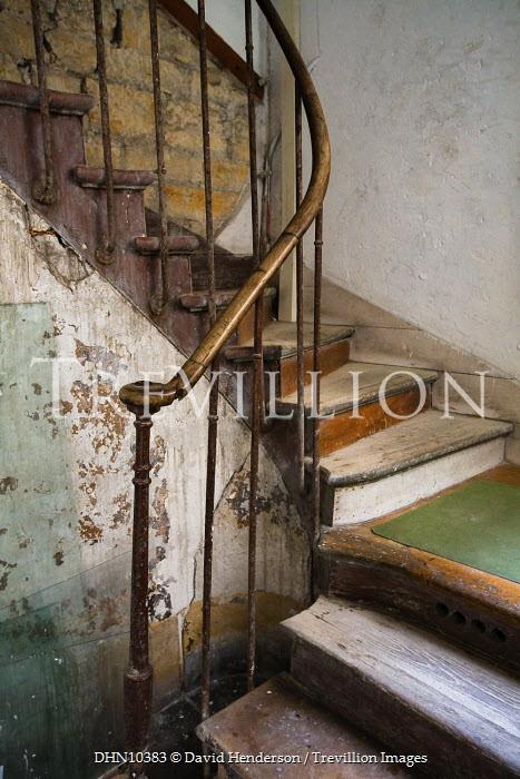 David Henderson STAIRWAY IN OLD HOUSE Stairs/Steps