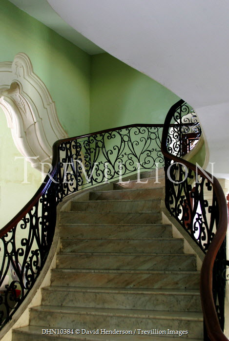 David Henderson STAIRCASE IN OLD HOUSE Stairs/Steps