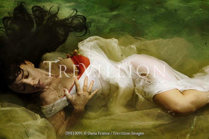 Dana France WOMAN DROWNING UNDERWATER IN LAKE Women
