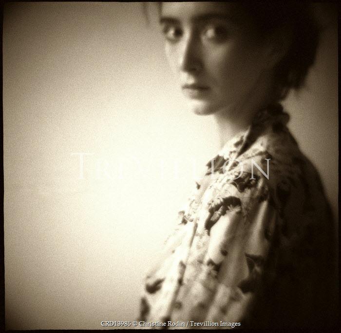 Christine Rodin YOUNG WOMAN IN RETRO BLOUSE Women