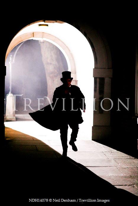 Neil Denham MAN RUNNING THROUGH ARCHWAY Men