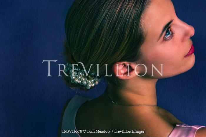 Tom Meadow WOMAN FACE HEAD BLONDE SMILING Women