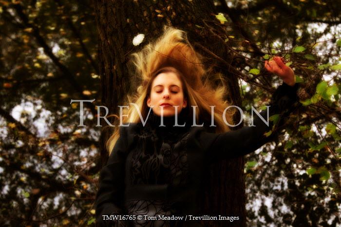 Tom Meadow Woman Grasping Branch Women