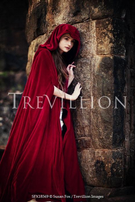 Trevillion Images Susan Fox Woman In Red Cloak Pe8