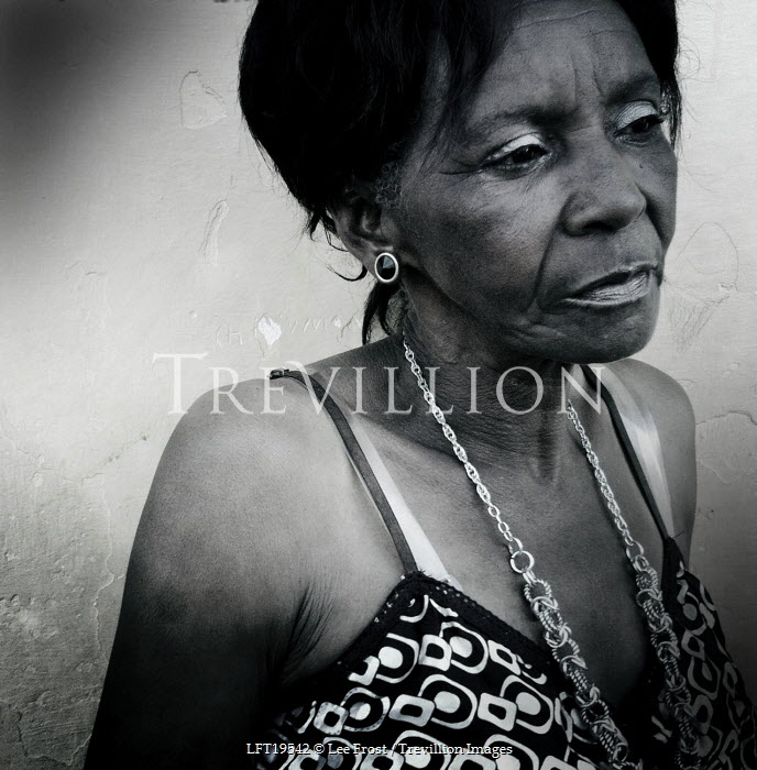 Lee Frost Old African woman Women