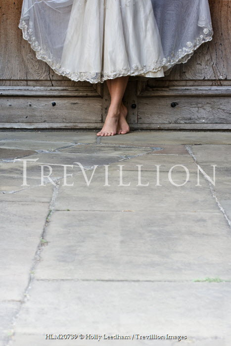 Holly Leedham WOMAN'S BARE FEET BY DOOR Body Detail