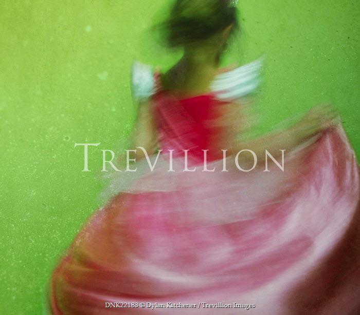 Dylan Kitchener GIRL DANCING IN PARTY DRESS Children