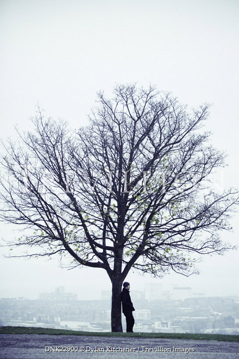 Dylan Kitchener MAN STOOD UNDER TREE Men