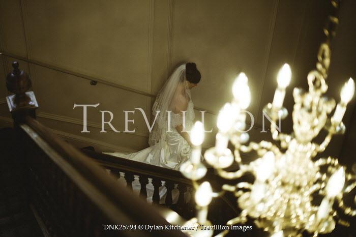 Dylan Kitchener BRIDE DESCENDING STAIRCASE WITH CHANDELIER Women