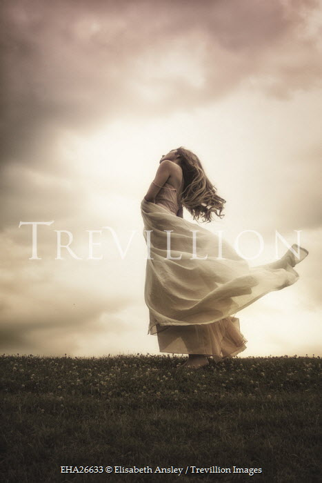 Trevillion Images Elisabeth Ansley Woman In White Flowing