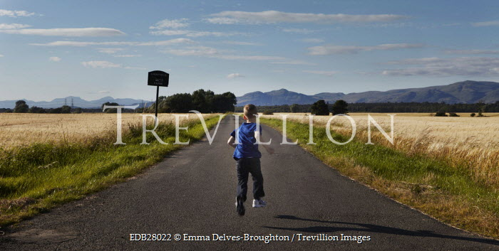 Emma Delves-Broughton BOY RUNNING IN COUNTRYSIDE Children