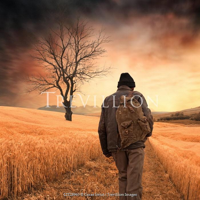 Caras Ionut MAN WALKING IN LANDSCAPE Men