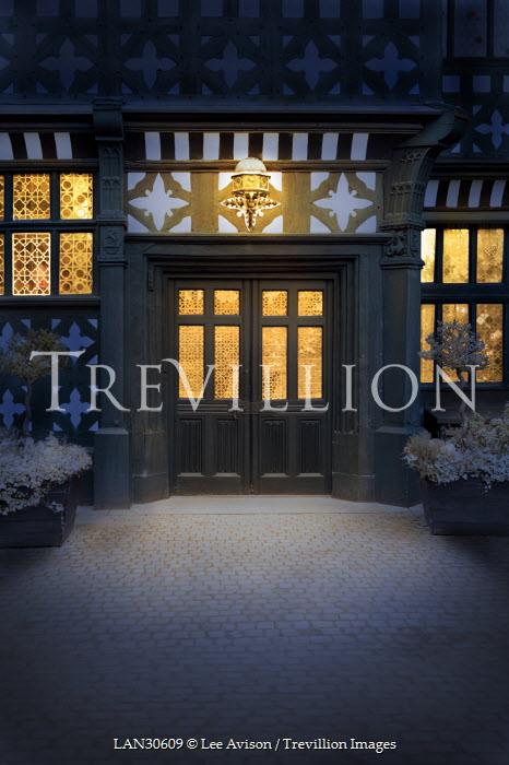 Lee Avison DOORWAY OF TUDOR HOUSE Houses