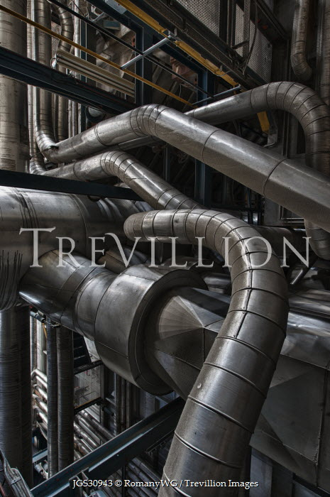 RomanyWG INDUSTRIAL METAL PIPES Interiors/Rooms
