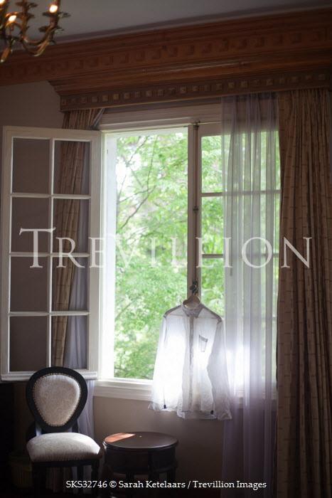 Sarah Ketelaars SHIRT BY BEDROOM WINDOW Interiors/Rooms