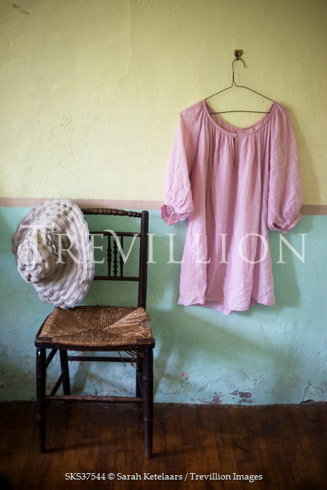 Sarah Ketelaars WOMAN'S CLOTHING WITH CHAIR Miscellaneous Objects