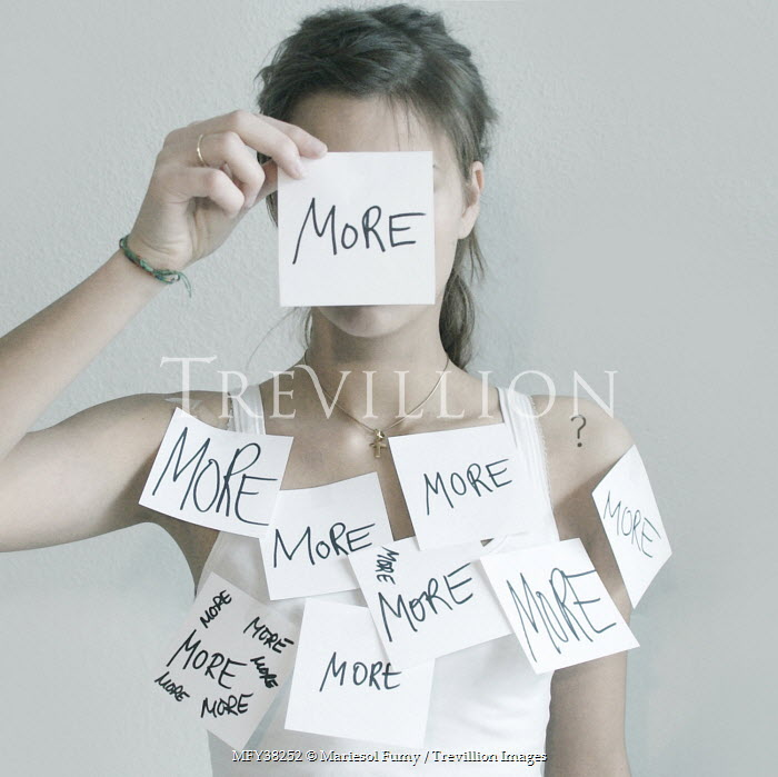Mariesol Fumy WOMAN COVERED WITH MESSAGES Women