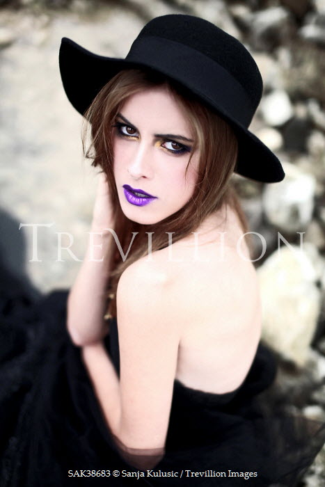 Sanja Kulusic GOTHIC WOMAN IN HAT Women
