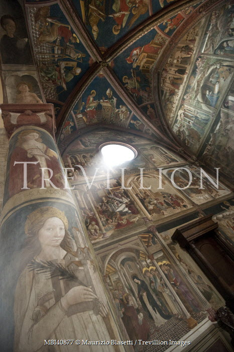 Maurizio Blasetti CEILING OF CHURCH WITH FRESCOES Religious Buildings