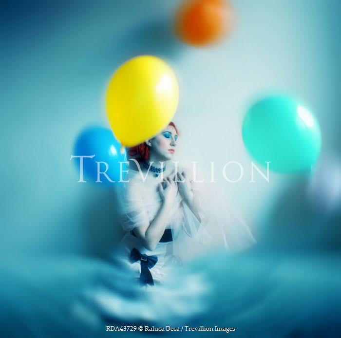 Raluca Deca WOMAN WITH BALLOONS Women