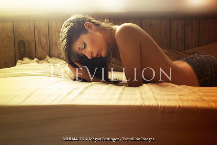 Megan Bettinger NAKED WOMAN LYING ON BED Women
